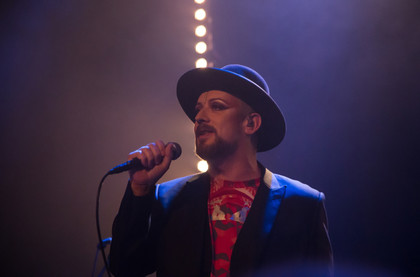 Fotos: Boy George live im Gloria Theater in Köln